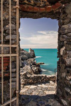 Portal in Cinque Terre, Italy