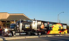 CAT, RCR, NASCAR, Freightliner Coronado