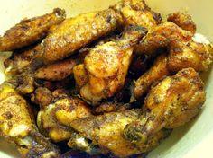 Salt and Vinegar Wings.  Very addicting! #lowcarb