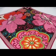 Vera Bradley Limited Edition Silk Scarf Take that business suit or pair of jeans and a white t-shirt to the next level with this beautiful and vibrant silk scarf. With so many colors you get a new look every time you tie it in a different style. Please see photos as they are considered part of the description. Thanks for looking. Vera Bradley Accessories Scarves & Wraps