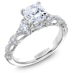 SCOTT KAY HEAVEN'S GATES COLLECTION ENGAGMENT RING