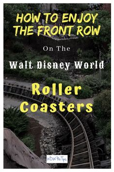 The roller coasters at Walt Disney World are some of the most fun rides on the planet. Today, I'm going to show you how to ride many of them in the front row. #DisneyCoasters #RollerCoasters #ExpeditionEverest #RocknRollerCoaster #SplashMountain #DisneyWo