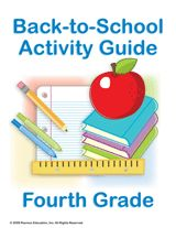 Print this Fourth Grade Summer Learning Guide of fun and educational activities to help prepare your students during the summer for the fourth-grade school year. Included in the packet are suggestions for summer reading, practice alphabetizing, journal topics, a worksheet for building a family tree, technology skill-building lessons, and more!