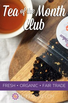 Love trying new tea flavors? Fresh loose leaf teas paired with a vibrant online community. One of the best tea subscription boxes out there.