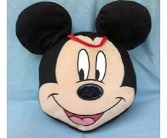 Mickey mouse 12 inch children's pillow $15.00