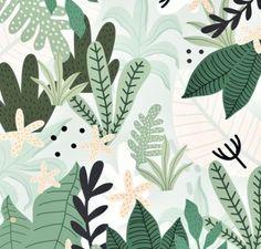 New palm tree drawing design art prints ideas Art And Illustration, Leaves Illustration, Illustration Inspiration, Pattern Illustration, Design Illustrations, Jungle Pattern, Motif Jungle, Jungle Print, Tree Patterns