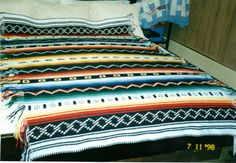 I want this so bad!!! INDIAN BLANKET AFGHAN I crocheted.