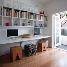 Who wants a long desk like this?
