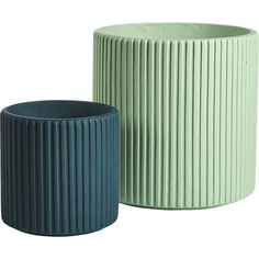Shop tahiti cement planters.   Carved vertical lines round this simple cylinder to a multi-dimensional effect.  Constructed from fiber cement, planter stands up to the elements no questions asked.