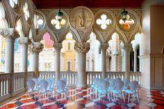 Our Beautiful Italian Designed Chairs at the Venetian - Las Vegas!