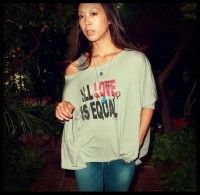 "Brittany Ishibashi  Actress - ""Political Animals""  Equal Marriage Rights: All Love is Equal Tee"