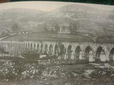 Acueducto de los Pilares. Oviedo Train, Bridges, Painting, Spaces, Places To Visit, Antique Photos, Cities, Fotografia, Painting Art