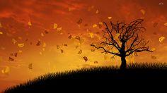 Autumn Wallpaper Wide for Widescreen Wallpaper - Nekeran.com Autumn Wallpaper Hd, Fairy Wallpaper, Sunset Wallpaper, Widescreen Wallpaper, Painting Wallpaper, Scenery Wallpaper, Wallpapers, Autumn Forest, Autumn Art