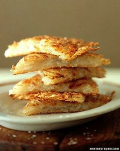 Grated Potato Pancakes Holiday Side Recipe
