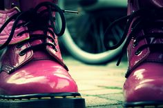 Dr. Martens, shoes, pink, girly, beautifull, hipster