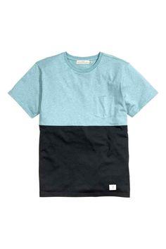 Tricou în culori bloc | H&M