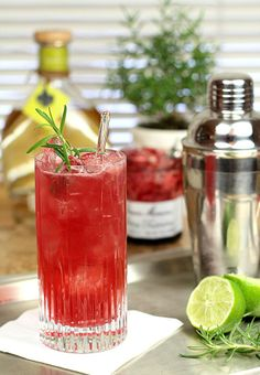 Door County Wedding Signature Cocktail Drink ~ Harbor Ridge Winery's Cherry Crush Spritzer recipe