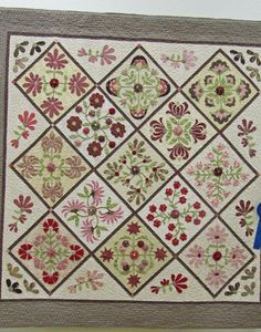 Camelot-Linda Bermann; Quilted by Holly Nichols