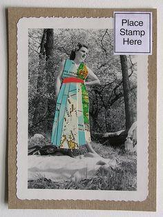 mailart postcards from robayre.com  Cute idea!