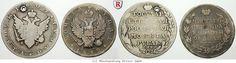 RITTER Russland, Alexander I., 2x Rubel 1804, 1812 St. Petersburg, KM C# 125&130 #coins