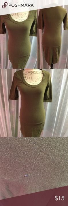 Plunge t shirt dress Great dress. Super comfy. Has a small snag in the back that's been fixed. venus Dresses Midi