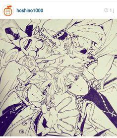 D. Gray-man (DGM) © To Hoshino Katsura Her Instagram : https://instagram.com/hoshino1000/