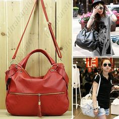 Korean Style Tassel PU Leather Lounge Shoulder Bag with Short/ Long Straps for Lady Girl Woman from UltraBarato Gadgets  Korean Style Tassel PU Leather Lounge Shoulder Bag with Short/ Long Straps for Lady Girl Woman from UltraBarato Gadgets