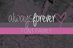 Always forever Font | dafont.com