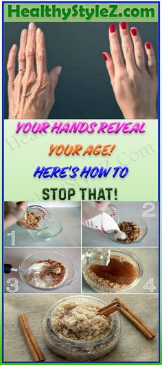 YOUR HANDS REVEAL YOUR AGE! HERE'S HOW TO STOP THAT! #health #Age #skincare