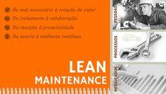 PG Lean Maintenance  Segunda Edição agendada para 24 de Novembro. http://www.cltservices.net/pt-pt/formacao/formacao-a-distancia-b-elearning/pos-graduacao-lean-maintenance