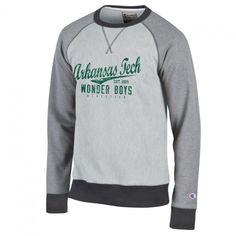 Men's TECH Crew Sweatshirt Grey - GO WONDER BOYS!! https://russellville.textbookbrokers.com/apparel-14/men-s-tech-crew-sweatshirt-grey.html