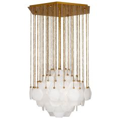 Cool for Dining Room // future // Jonathan Adler Vienna Large Chandelier in Ceiling Lamps