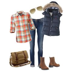can't wait to break out the plaid and boots! Of course, plaid is pretty much great any time of year in my book! :D