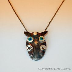 Whooo thinks this necklace is a hoot?