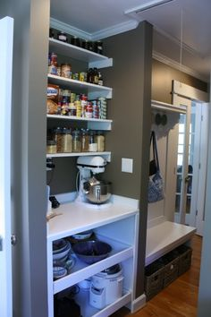 we could all use a butler's pantry/mudroom like this, couldn't we?