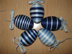 Velikonoční vajíčka - tak trochu do modra