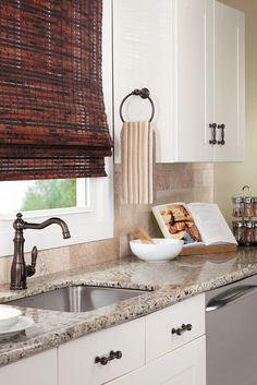The Weymouth towel ring is the perfect #KitchenHack to keep your home stylish, and your towels dry. Moen.