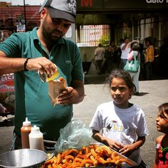 On the go in #Venezuela? Have a #churro!