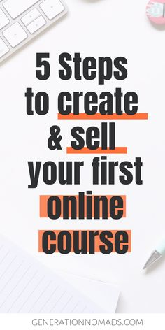 Ever thought about selling online courses? Or other digital products? Here are 5 things we learnt about launching online products that people will buy. Way To Make Money, Make Money Online, Legit Work From Home, Best Online Courses, Creating Passive Income, Learning Courses, Sales Tips, Instructional Design, Things To Sell
