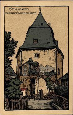 (HEIMAT SETTING) - Hunsrück - Simmern Schinderhannes Turm /
