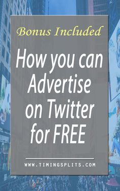 Promoting your business on Twitter is different than other platforms but it doesn't have to be expensive. Learn how to advertise on Twitter for Free.