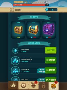 Almost a hero shop gacha chest