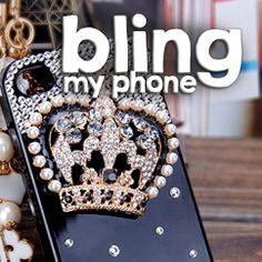 #handmade #iphone #samsung #mobile #phone #cases #phonecases check out http://www.facebook.com/BlingImports Rhinestone/Crystal/Diamond Hard phone Case - this 'Crown' model just £14 and post free - pre-orders yours via our Facebook link above!