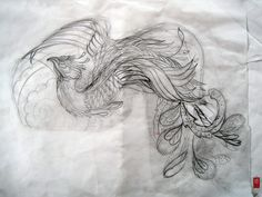 Image detail for -Pin Traditional Japanese Phoenix Tattoo Designs on Pinterest