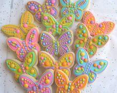 Garden Friend Cookies  Garden Critter Cookies  28 Cookies