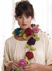 Ravelry: Belle Fleur Scarf pattern by Michele Wilcox