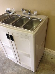Electric: Portable Concession Sink 3 Compartments  Hand by PCSinks                                                                                                                                                                                 More