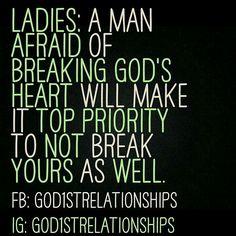 A man afraid of breaking God's heart
