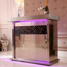 LUXURY HOME ACESSORIES | Champagne Crystal Home Bar | www.bocadolobo.com #bocadolobo #luxuryfurniture #exclusivedesign #interiodesign #designideas