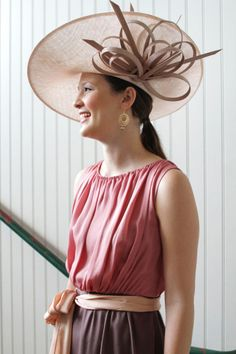 love the derby hat....